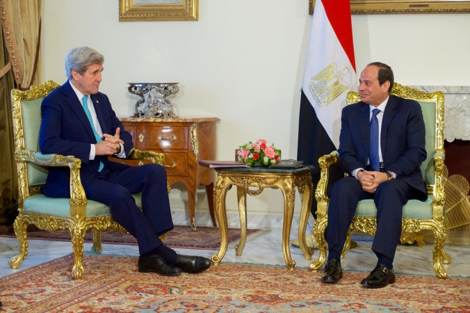 Kerry and Egypt
