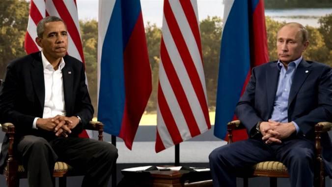 Barak Obama and Putin